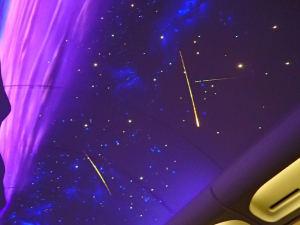 黒船電車で流れ星