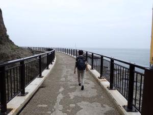稚児ケ淵の歩廊