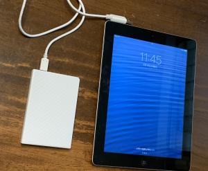 iPadからWindowsへ写真移行
